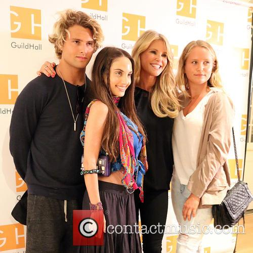 Jack Brinkley Cook, Alexa Ray Joel, Christie Brinkley and Sailor Cook 4
