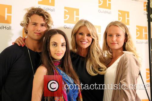 Jack Brinkley Cook, Alexa Ray Joel, Christie Brinkley and Sailor Cook 5