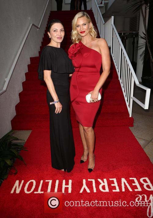 Lilith Berdischewsky and Natasha Henstridge 1