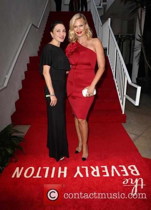 Lilith Berdischewsky and Natasha Henstridge 9