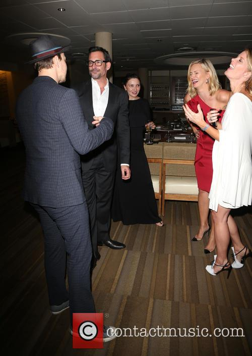 Gavin Degraw, Lawrence Zarian, Natasha Henstridge and Michelle Stafford 2