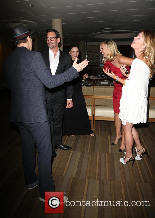 Gavin Degraw, Lawrence Zarian, Natasha Henstridge and Michelle Stafford 1
