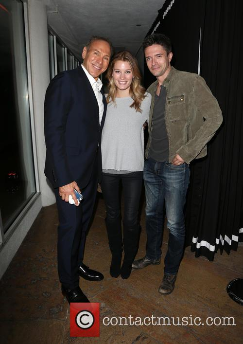 Neil Lane, Ashley Hinshaw and Topher Grace 2
