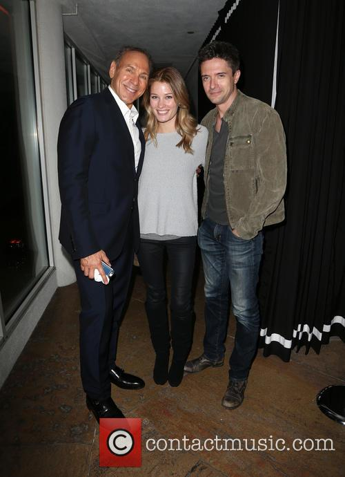 Neil Lane, Ashley Hinshaw and Topher Grace 3