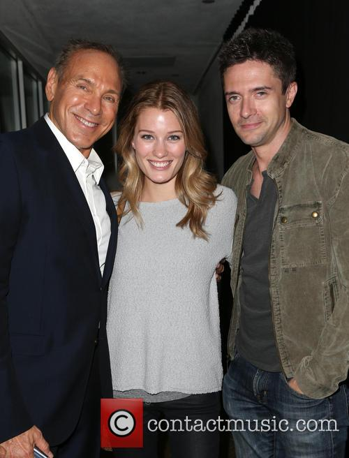 Neil Lane, Ashley Hinshaw and Topher Grace 4