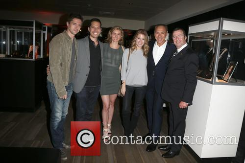 Topher Grace, Brianna Brown, Ashley Hinshaw, Neil Lane and Beny Alagem 3