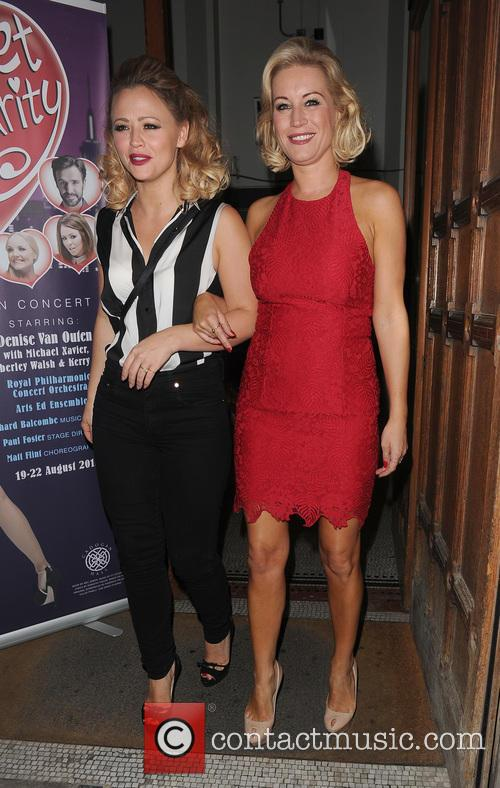 Kimberley Walsh and Denise Van Outen 3