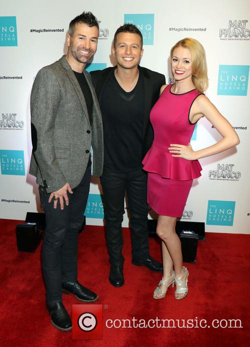 Ted Russell, Mat Franco and Caitlin Nash 1