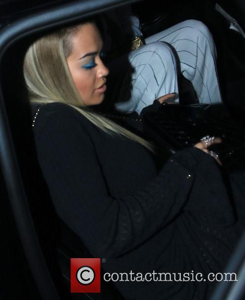 Rita Ora leaves The Nice Guy