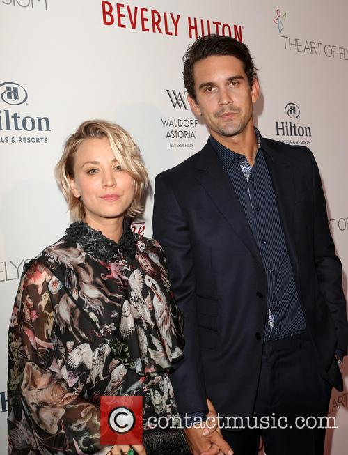 Kaley Cuoco and Ryan Sweeting 3