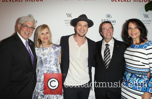 Julian A. Gold, Gavin Degraw, Beny Alagem and Guest 3