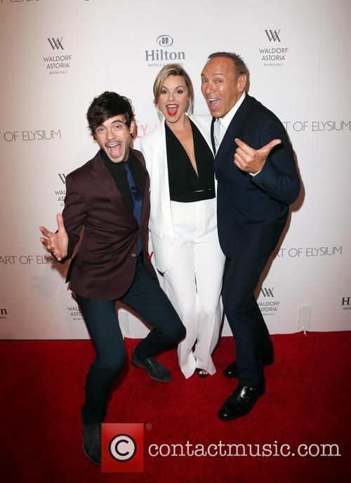Kevin Manno, Ali Fedotowsky and Neil Lane 7
