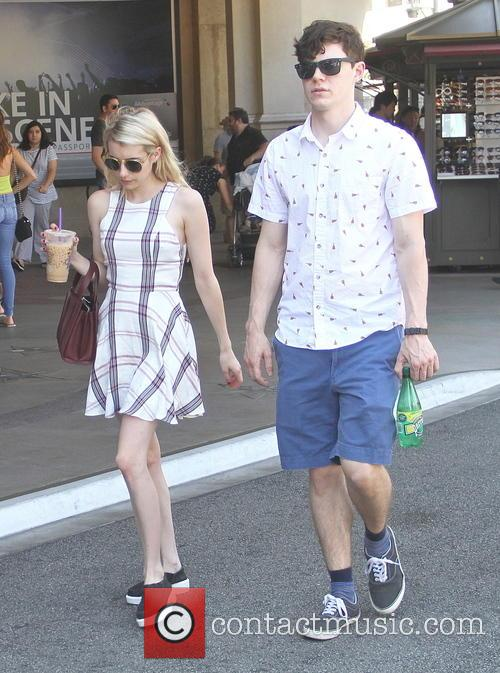 EXCLUSIVE Emma Roberts and Evan Peters go shopping...