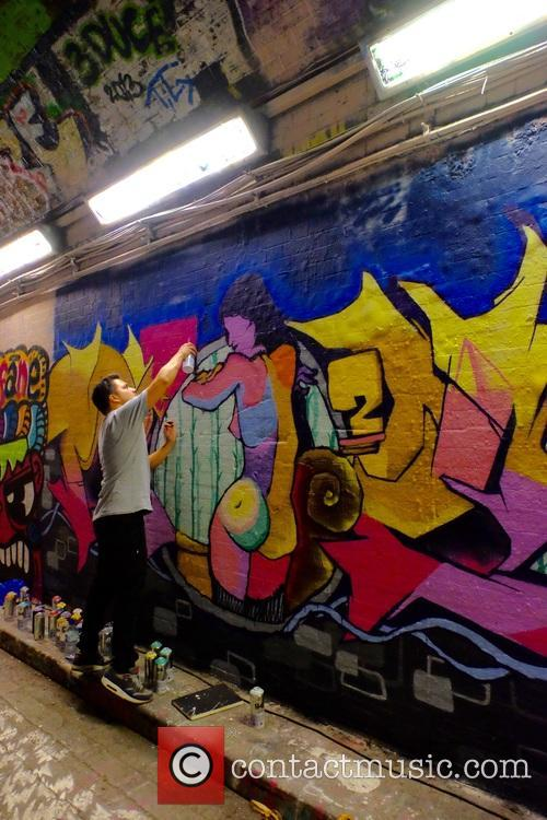Graffiti artists compete in Battle of Waterloo at...
