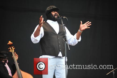 Grogory Porter perform at V festival Weston Park