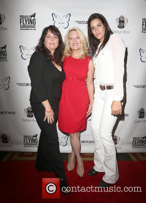 Jane Clark, Barbara Niven and Cathy Debuono 2