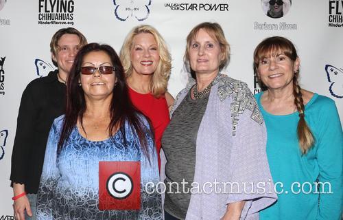 Barbara Niven and Fans 2