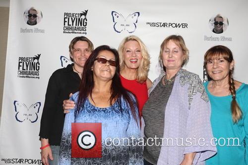 Barbara Niven and Fans 1