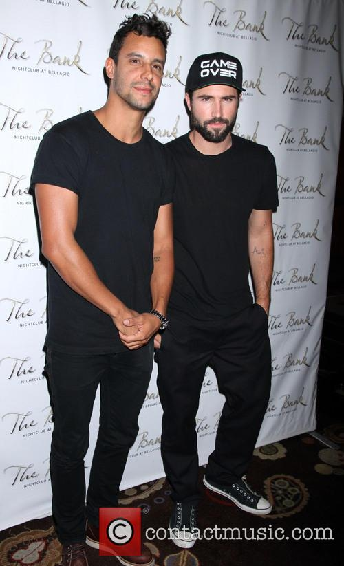 Brody Jenner and Devin Lucien 1