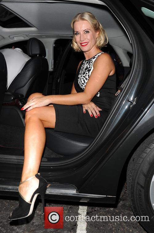 Denise Van Outen and Kimberley Walsh leave Cadogan...