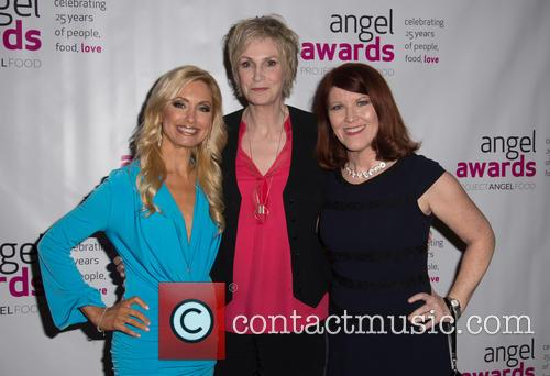 Mary Beth Mcdade, Jane Lynch and Kate Flannery 2