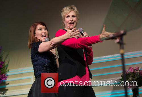 Kate Flannery and Jane Lynch 2