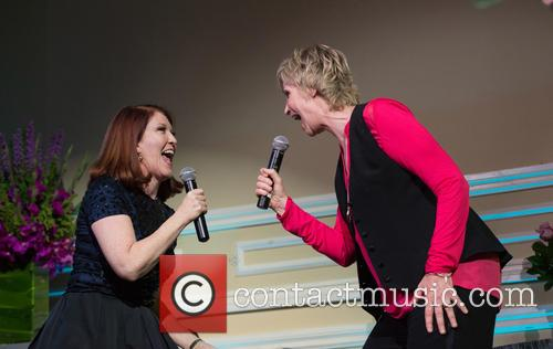 Kate Flannery and Jane Lynch 3