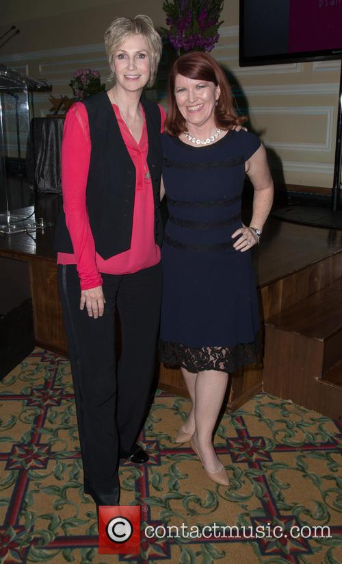 Jane Lynch and Kate Flannery 1