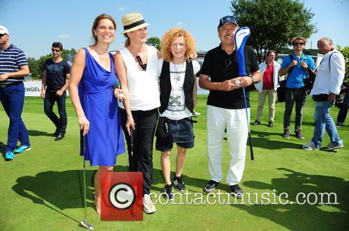 Lucy Diakovska, Sarah Wiener, Suzanne Von Borsody and Wolfgang Stumph 2