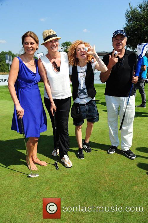 Lucy Diakovska, Sarah Wiener, Suzanne Von Borsody and Wolfgang Stumph 1
