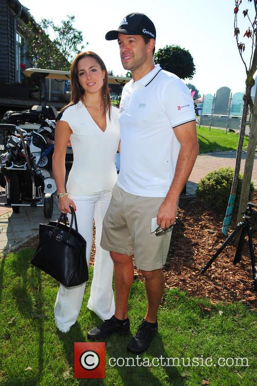 Girlfriend Natascha and Michael Ballack 2