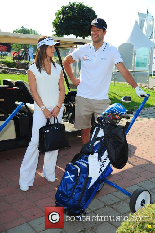 Girlfriend Natascha and Michael Ballack 3
