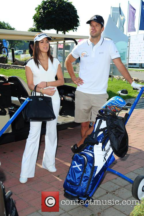 Girlfriend Natascha and Michael Ballack 4