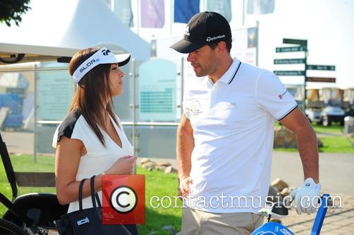 Girlfriend Natascha and Michael Ballack 1