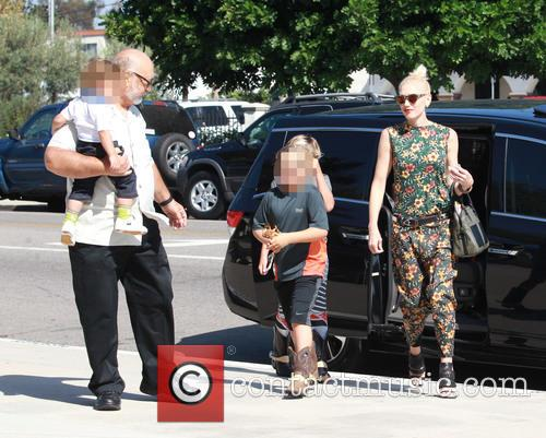 Gwen Stefani, Kingston Rossdale, Zuma Rossdale and Apollo Rossdale 3