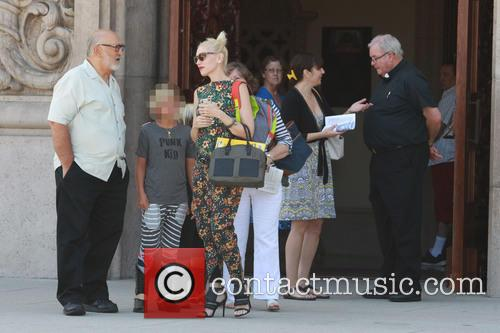 Gwen Stefani, Kingston Rossdale, Zuma Rossdale and Apollo Rossdale 1