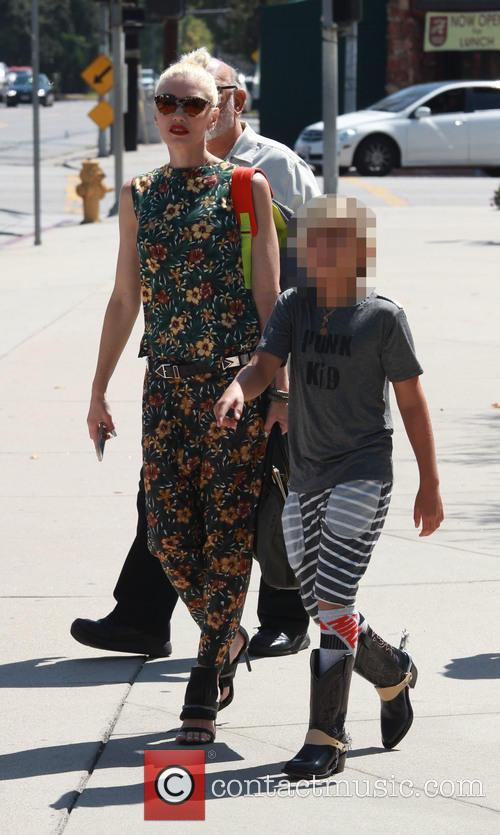 Gwen Stefani and Kingston Rossdale 4