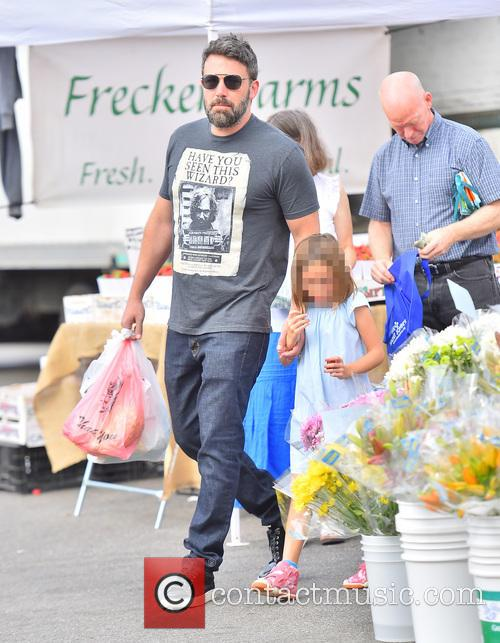 Ben Affleck and Seraphina Affleck 2