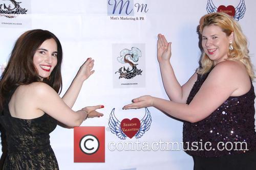 Vida Ghaffari and Kristin West 3