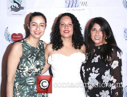 Pooneh Navab, Mitra Memari and Candy Fuentes 1