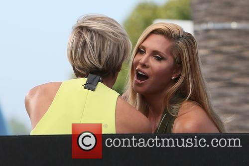 Candis Cayne and Charissa Thompson