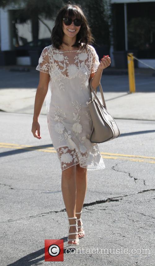 Cara Santana goes shopping in Hollywood