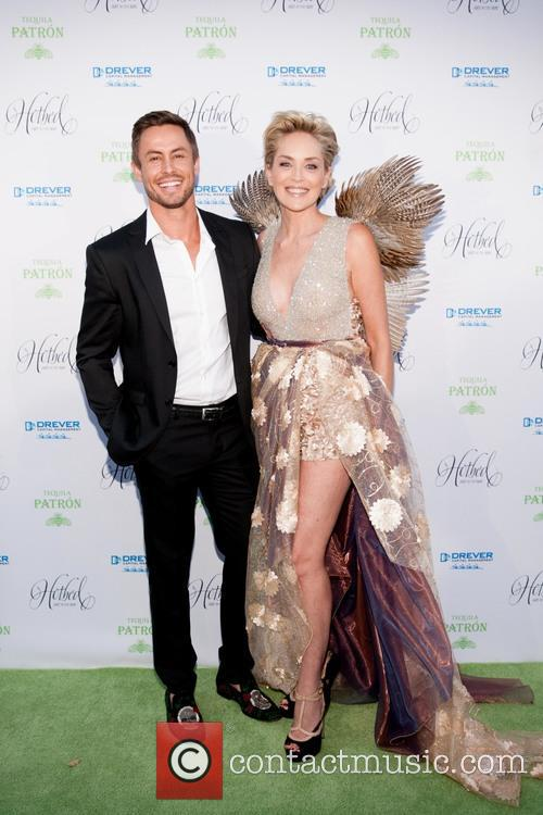 Galen Drever and Sharon Stone 2