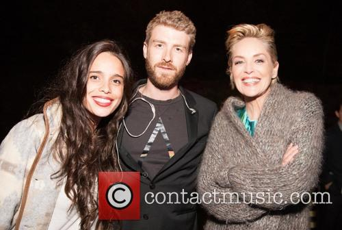 Chelsea Tyler, Jon Foster and Sharon Stone
