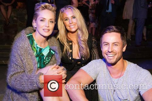 Sharon Stone, Victoria Noyes and Galen Drever 1