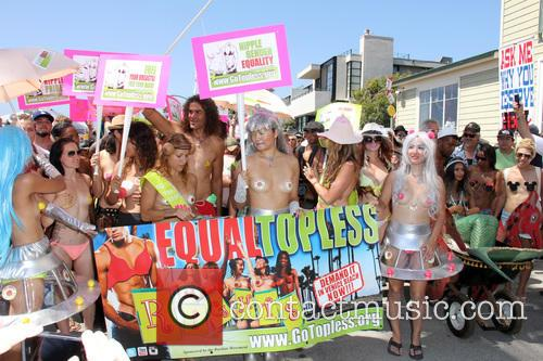 World Go Topless Pride and March 9