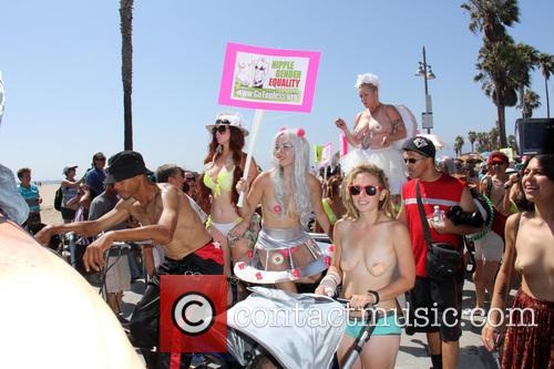 World Go Topless Pride and March 1