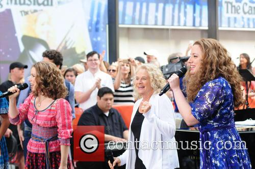 Abby Mueller, Carole King and Chilina Kennedy 2