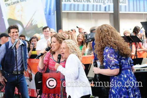 Abby Mueller, Carole King and Chilina Kennedy 3