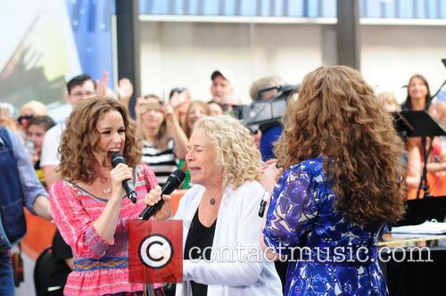 Abby Mueller, Carole King and Chilina Kennedy 4